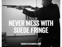 Never Mess with Suede Fringe - 7 Minutes